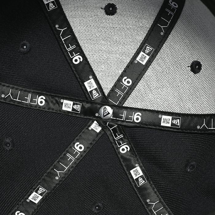 NEW ERA/ニューエラ DESIGNLESS STITCHis STITCH CAP -BLACK×BLACK-