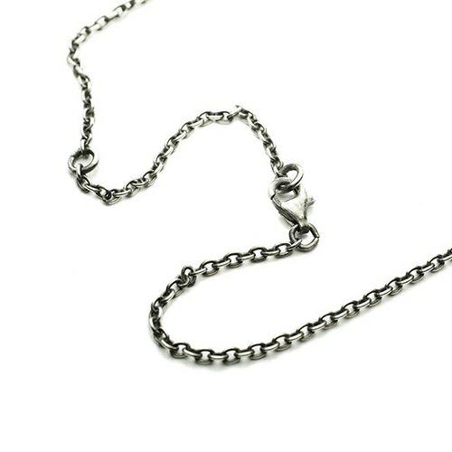 【ジャムホームメイド(JAMHOMEMADE)】3月 誕生石 コイン ネックレス ヴィンテージ マーキュリーコイン - シルバー