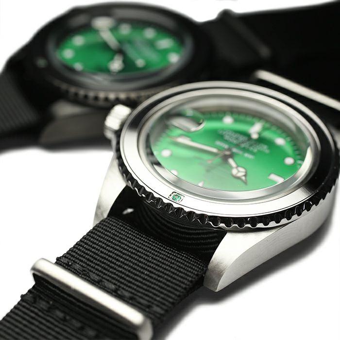 エメラルドジャムウォッチ NATO -BLACK- / 腕時計