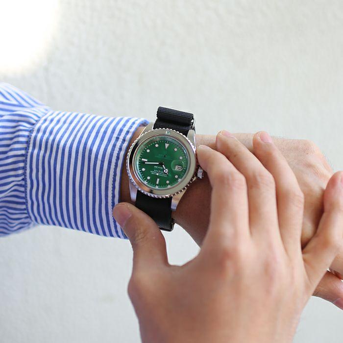エメラルドジャムウォッチ NATO -SILVER- / 腕時計 / 時計・腕時計