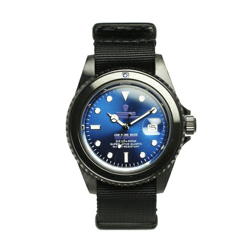 サファイアジャムウォッチ NATO -BLACK- / 腕時計