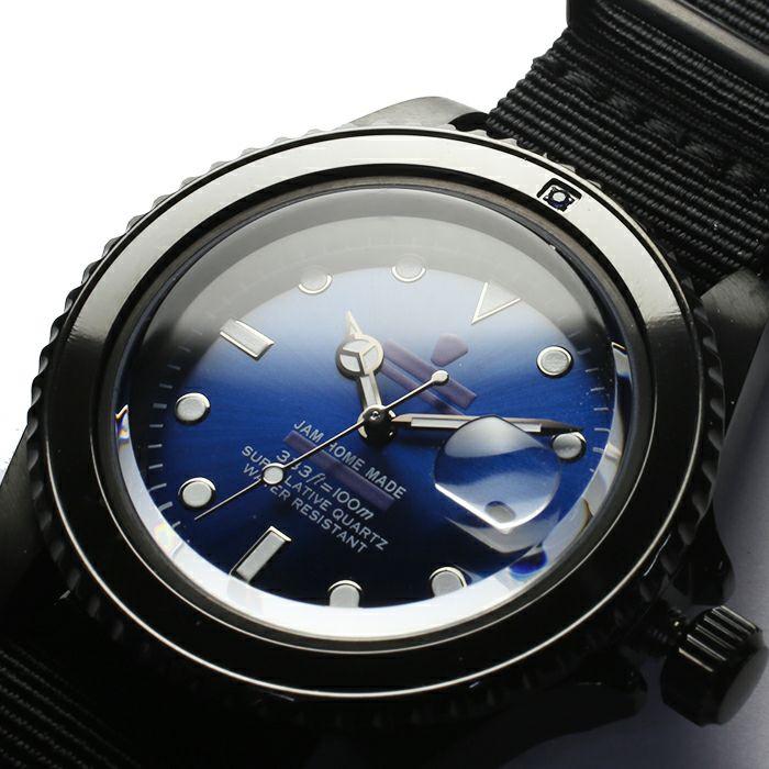 サファイアジャムウォッチ NATO -BLACK- / 腕時計 / 時計・腕時計