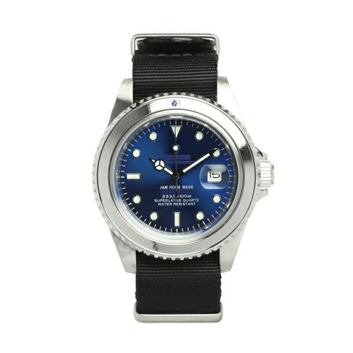 サファイアジャムウォッチ NATO -SILVER- / 腕時計 / 時計・腕時計