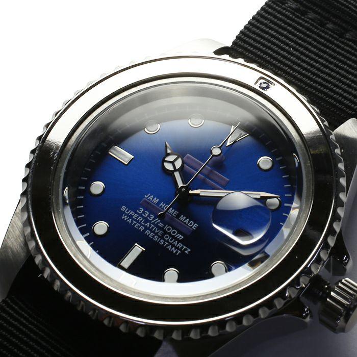 サファイアジャムウォッチ NATO -SILVER- / 腕時計