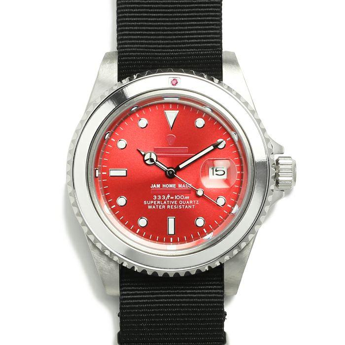 ルビージャムウォッチ NATO -SILVER- / 腕時計 / 時計・腕時計