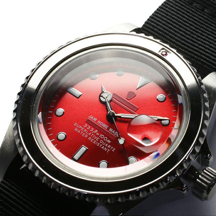 ルビージャムウォッチ NATO -SILVER- / 腕時計