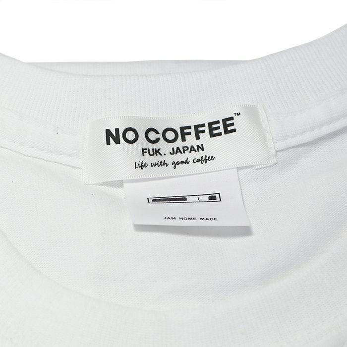 衣料品トップス / NO COFFEE(ノーコーヒー) シェア Tシャツ -WHITE- コラボ 人気 おすすめ ブランド 白 ホワイト メンズ レディース ユニセックス ペア