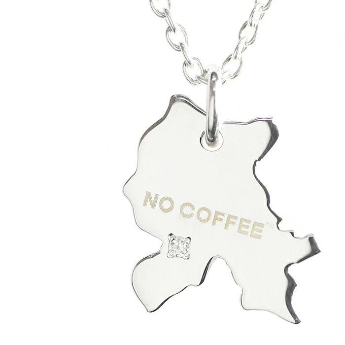 ネックレス / 日本地図 NO COFFEE(ノーコーヒー) ネックレス コラボ 人気 おすすめ ブランド 福岡 ダイヤモンド メンズ レディース ユニセックス ペア
