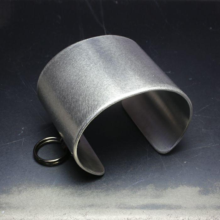 ブレスレット / EXIT メタルバングル XL(55mm) - バイブレーション(マットステンレス)- メンズ レディース ユニセックス 人気 ブランド おすすめ ペア プレゼント ごつめ シルバー ゴールド ブラック