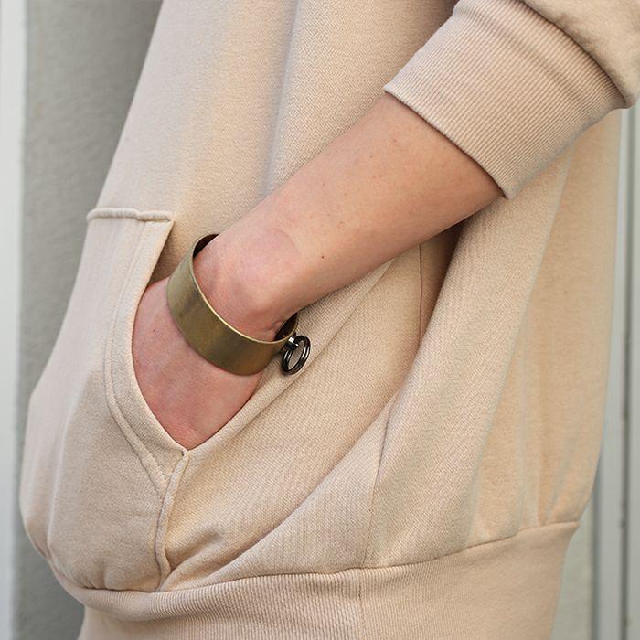 ブレスレット / EXIT メタルバングル M(25mm) - ファイヤーゴールド - メンズ レディース ユニセックス 人気 ブランド おすすめ ペア プレゼント ごつめ シルバー ゴールド ブラック