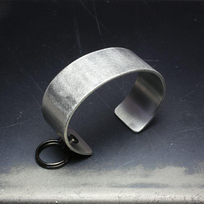 【JAM HOME MADE(ジャムホームメイド)】EXIT メタルバングル M(25mm) - バイブレーション(マットステンレス)- メンズ レディース ユニセックス 人気 ブランド おすすめ ペア プレゼント ごつめ シルバー ゴールド ブラック