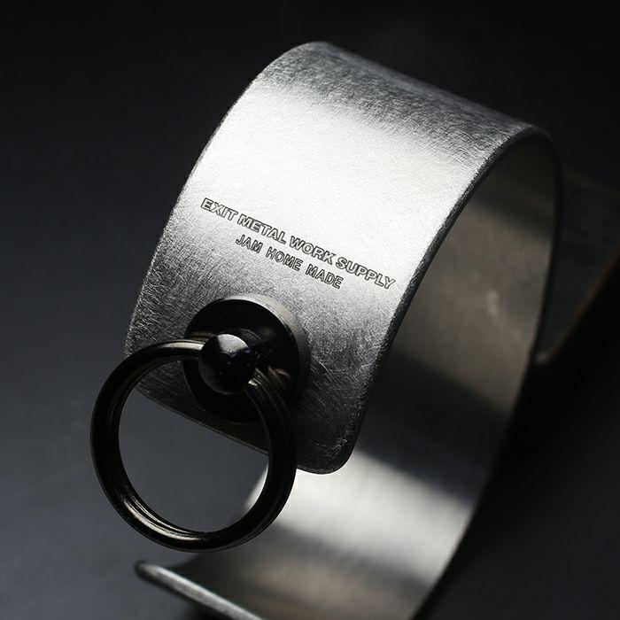 ブレスレット / EXIT メタルバングル M(25mm) - バイブレーション(マットステンレス)- メンズ レディース ユニセックス 人気 ブランド おすすめ ペア プレゼント ごつめ シルバー ゴールド ブラック