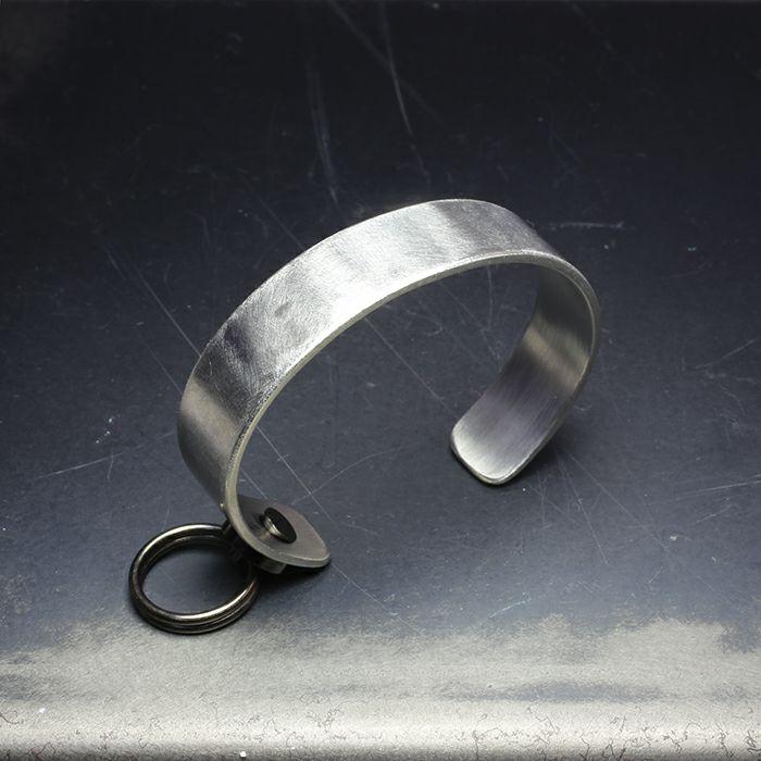 【JAM HOME MADE(ジャムホームメイド)】EXIT メタルバングル S(15mm) -バイブレーション(マットステンレス)- メンズ レディース ユニセックス 人気 ブランド おすすめ ペア プレゼント ごつめ シルバー ゴールド ブラック