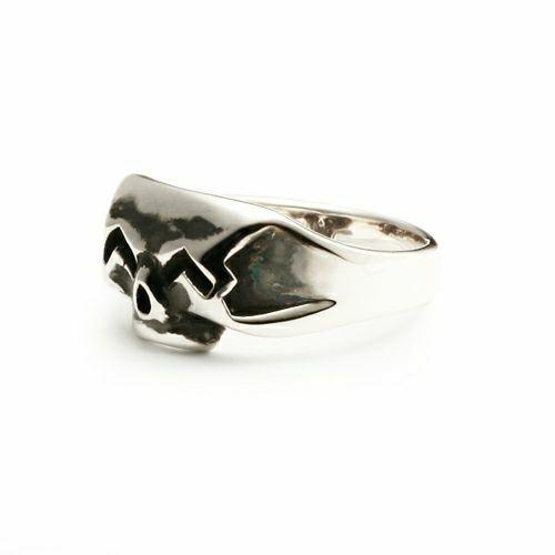 指輪 / スマイルスカルリング S メンズ 人気 ブランド おすすめ シルバー