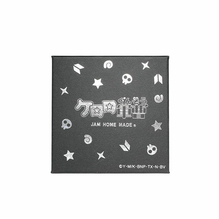 ケロロ小隊 プレートネックレス ギロロ伍長×ドクロ / ネックレス