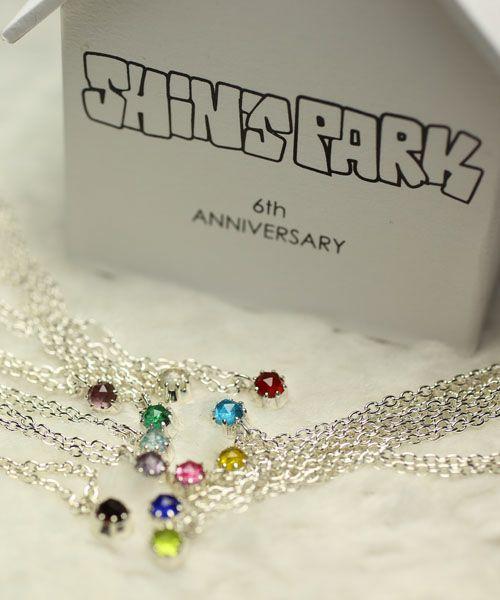 11月 誕生石 SHIN'S PARK BIRTH STONE ペンダントネックレス / ネックレス