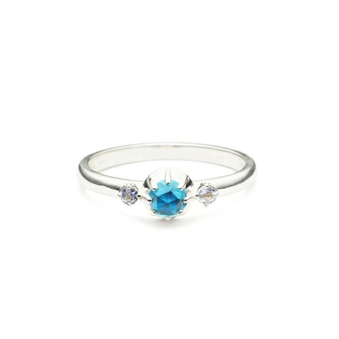 【ジャムホームメイド(JAMHOMEMADE)】12月 誕生石 SHIN'S PARK BIRTH STONE リング / 指輪