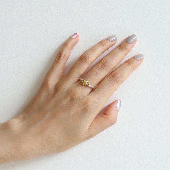 【ジャムホームメイド(JAMHOMEMADE)】11月 誕生石 SHIN'S PARK BIRTH STONE リング / 指輪