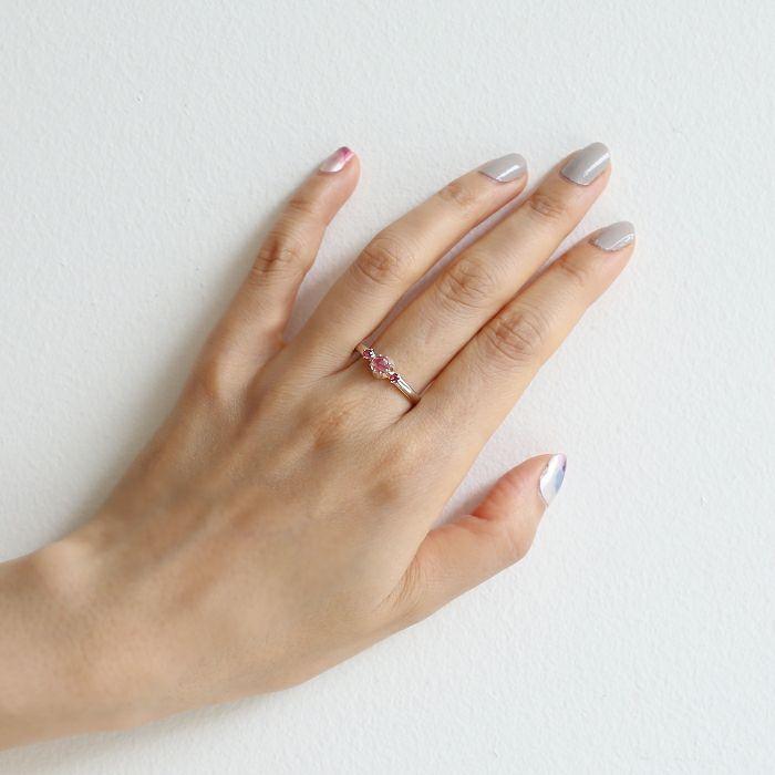 【ジャムホームメイド(JAMHOMEMADE)】10月 誕生石 SHIN'S PARK BIRTH STONE リング / 指輪