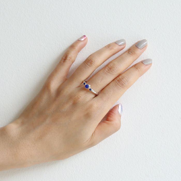 【ジャムホームメイド(JAMHOMEMADE)】9月 誕生石 SHIN'S PARK BIRTH STONE リング / 指輪