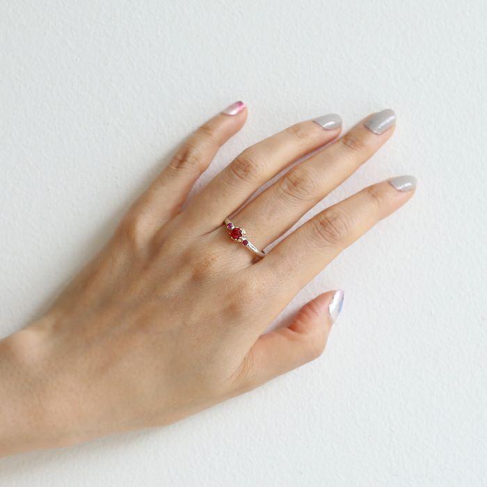 【ジャムホームメイド(JAMHOMEMADE)】7月 誕生石 SHIN'S PARK BIRTH STONE リング / 指輪
