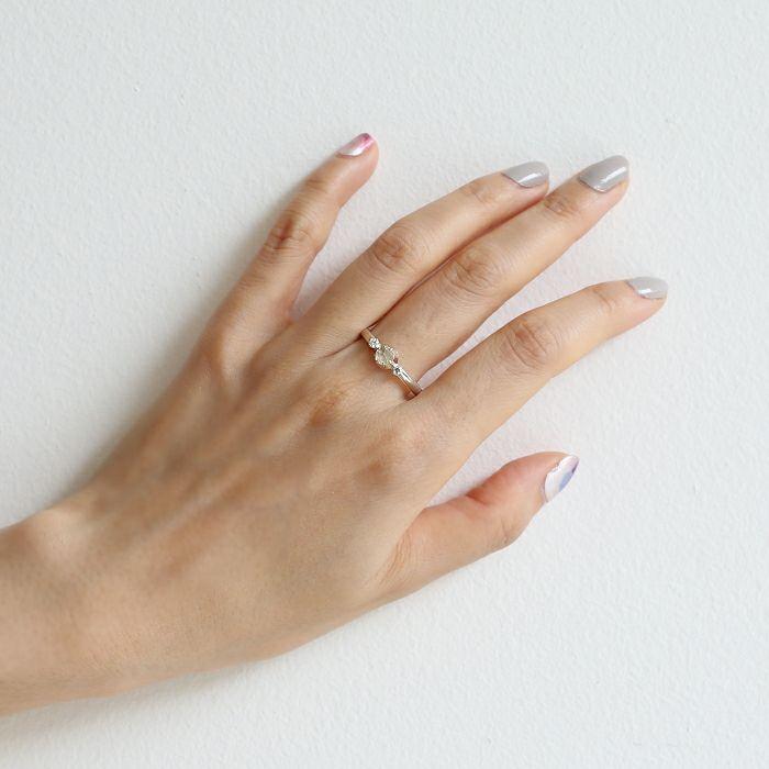 【ジャムホームメイド(JAMHOMEMADE)】4月 誕生石 SHIN'S PARK BIRTH STONE リング / 指輪