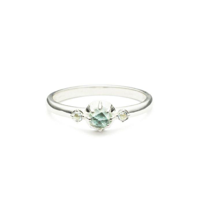 【ジャムホームメイド(JAMHOMEMADE)】3月 誕生石 SHIN'S PARK BIRTH STONE リング / 指輪