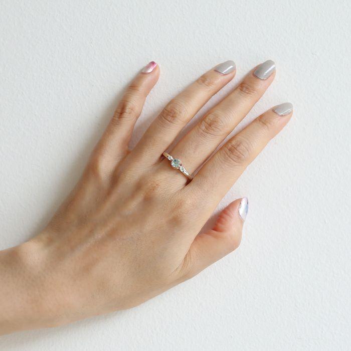 【JAM HOME MADE(ジャムホームメイド)】3月 誕生石 SHIN'S PARK BIRTH STONE リング / 指輪 メンズ レディース ユニセックス 人気 ブランド おすすめ アンティークジュエリー メゾン ハイエンド