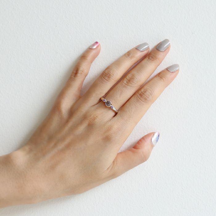 【ジャムホームメイド(JAMHOMEMADE)】2月 誕生石 SHIN'S PARK BIRTH STONE リング / 指輪