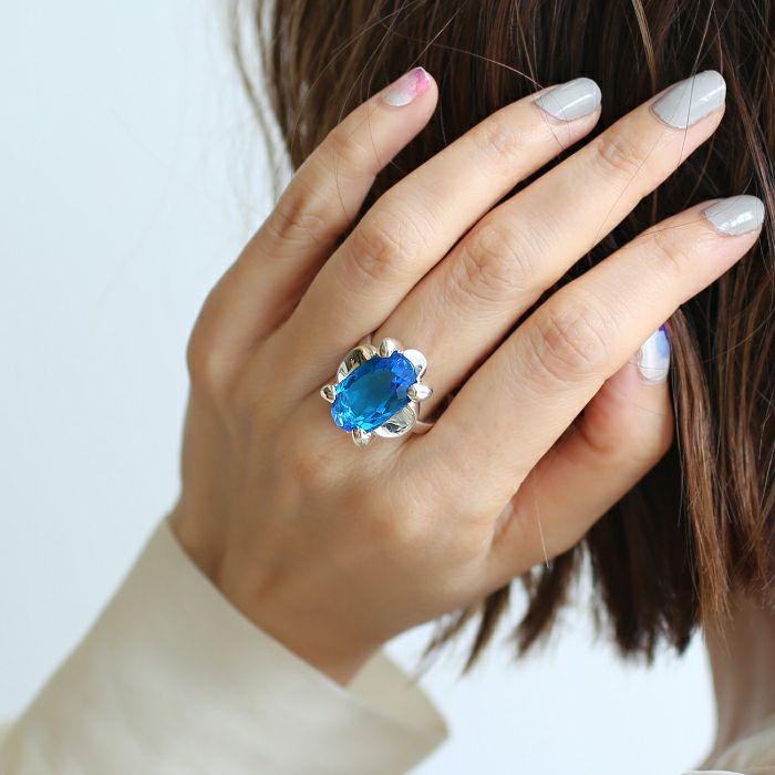 【ジャムホームメイド(JAMHOMEMADE)】12月 誕生石 SHIN'S PARK BIRTH STONE フリーサイズリング / 指輪