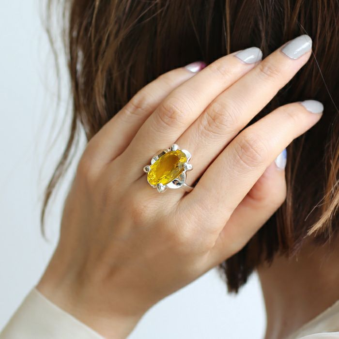 【ジャムホームメイド(JAMHOMEMADE)】11月 誕生石 SHIN'S PARK BIRTH STONE フリーサイズリング / 指輪