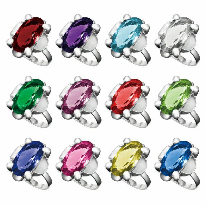 【ジャムホームメイド(JAMHOMEMADE)】9月 誕生石 SHIN'S PARK BIRTH STONE フリーサイズリング / 指輪
