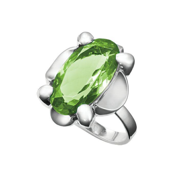 【ジャムホームメイド(JAMHOMEMADE)】8月 誕生石 SHIN'S PARK BIRTH STONE フリーサイズリング / 指輪