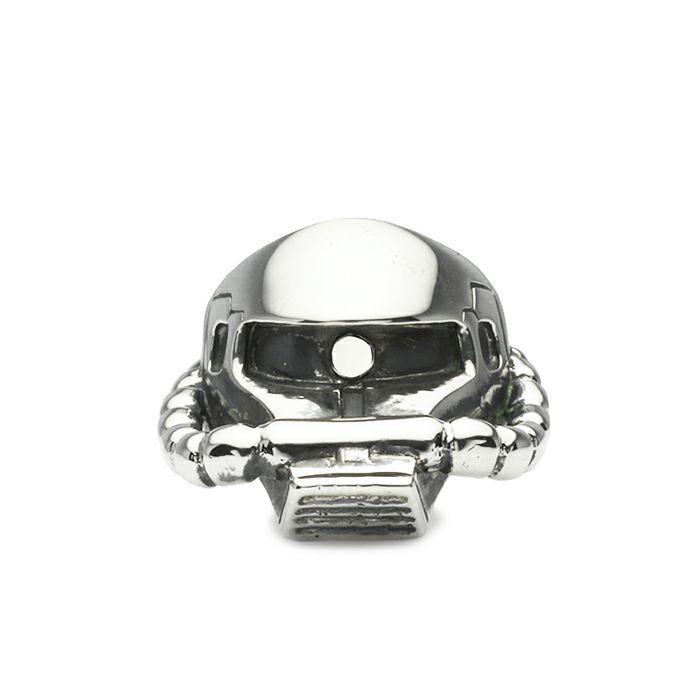 ガンダム/GUNDAM 機動戦士ガンダム 量産型ザク フェイスリング -SILVER- 公式 メンズ コラボ 人気 おすすめ ブランド グッズ ファングッズ  モノアイ MS-06 ジオン