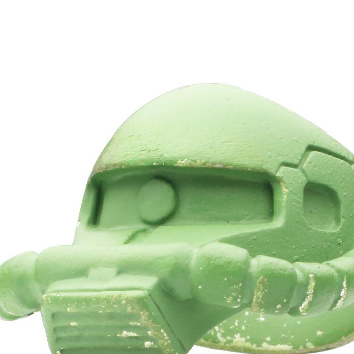 ガンダム/GUNDAM 機動戦士ガンダム 量産型ザク フェイスリング -GREEN- 公式 メンズ コラボ 人気 おすすめ ブランド グッズ ファングッズ  モノアイ MS-06 ジオン