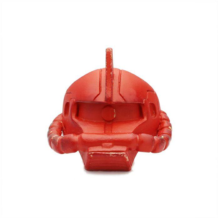 ガンダム/GUNDAM 機動戦士ガンダム シャア専用 ザク フェイスリング -RED- 公式 メンズ コラボ 人気 おすすめ ブランド グッズ ファングッズ  シャア・アズナブル ザクⅡ MS-06S ジオン 3倍