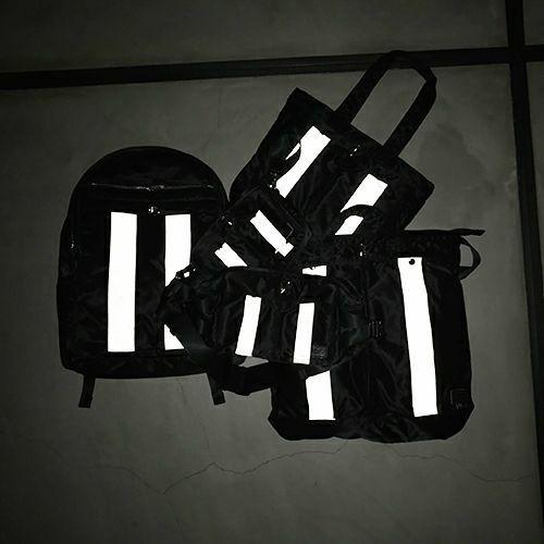 【ジャムホームメイド(JAMHOMEMADE)】ポーター/PORTER アイレット リフレクター B5 ショルダーバッグ サコッシュ -レディース-