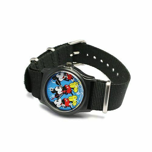 ミッキーマウス アナログ ウォッチ NATOタイプ -BLUE- / 腕時計 -レディース- / 時計・腕時計 / レディース 時計・腕時計