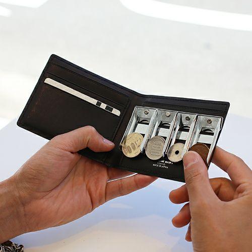 スリムミディアムウォレット コインカードセット / 二つ折り財布 / 財布・革財布