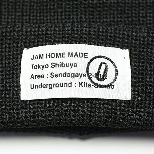A4LA/カシラ JAM SHOP ニットキャップ -BLACK- / レディース /洋服小物