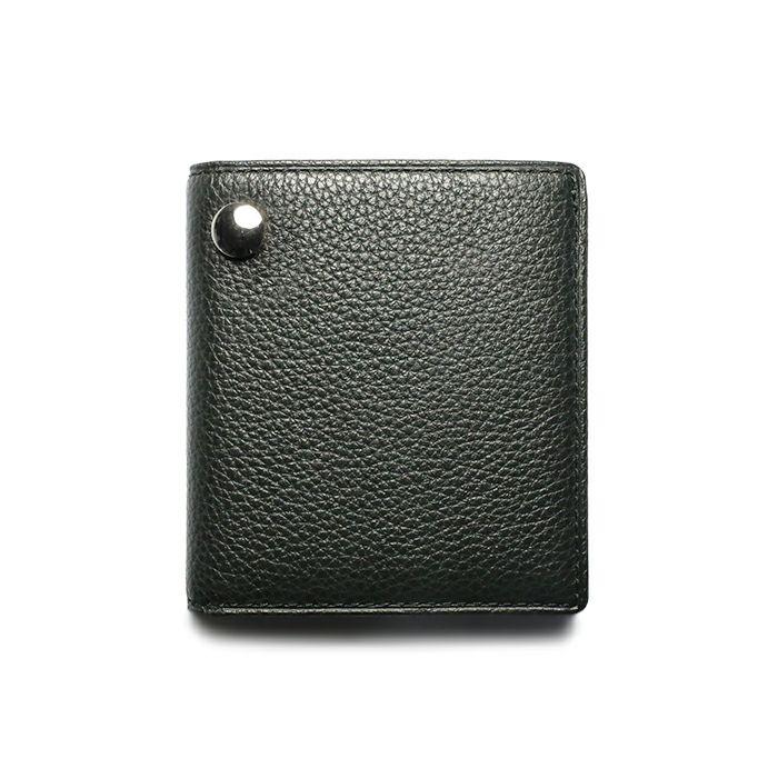 令和 財布 二つ折り コンパクト - オーバル / シルバー /