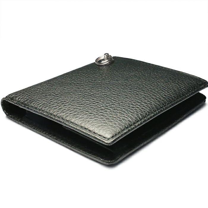 令和 財布 二つ折り コンパクト - アイレット / シルバー /財布・革財布