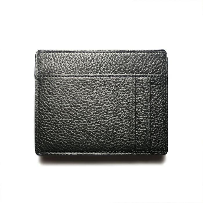 令和 財布 コンパクト 小銭入れ & 札入れ - アイレット / ブラック / 財布・革財布