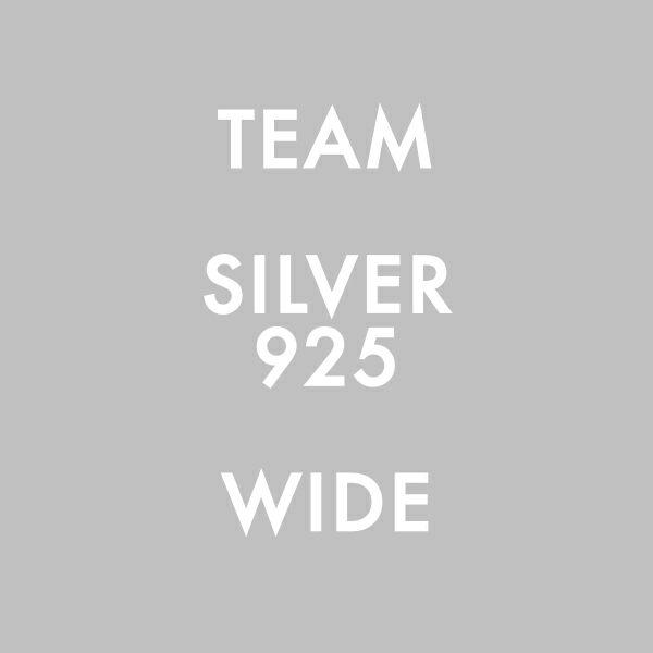 【ジャムホームメイド(JAMHOMEMADE)】シルバー925 WIDE / チームリング