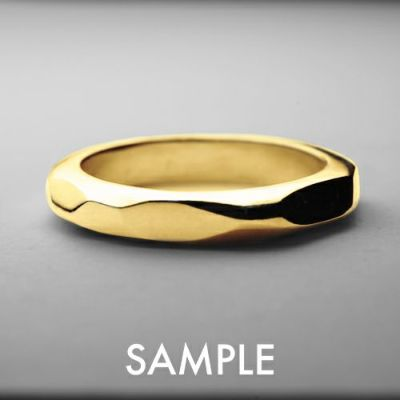 私たちのカタチ -指輪- K18イエローゴールド WIDE / ペアリング