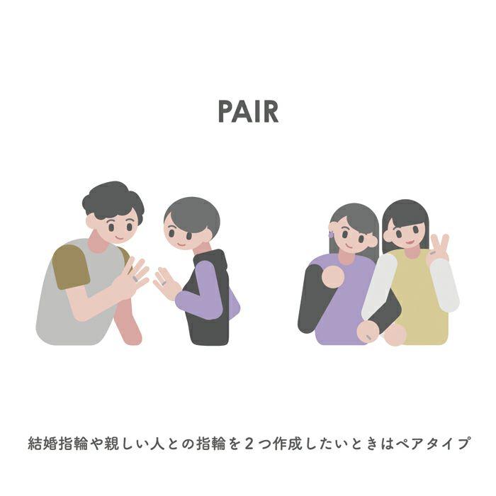 【ジャムホームメイド(JAMHOMEMADE)】シルバー925 SLIM / ペアリング