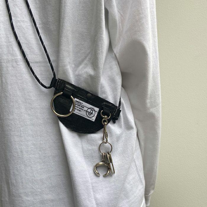 【ジャムホームメイド(JAMHOMEMADE)】シンプル / バムフラップ サコッシュ バッグ S -レディース- / nonmetalシリーズ