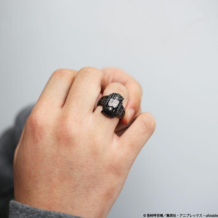 【ジャムホームメイド(JAMHOMEMADE)】鬼滅の刃 ヘリテイジ リング - ブラック
