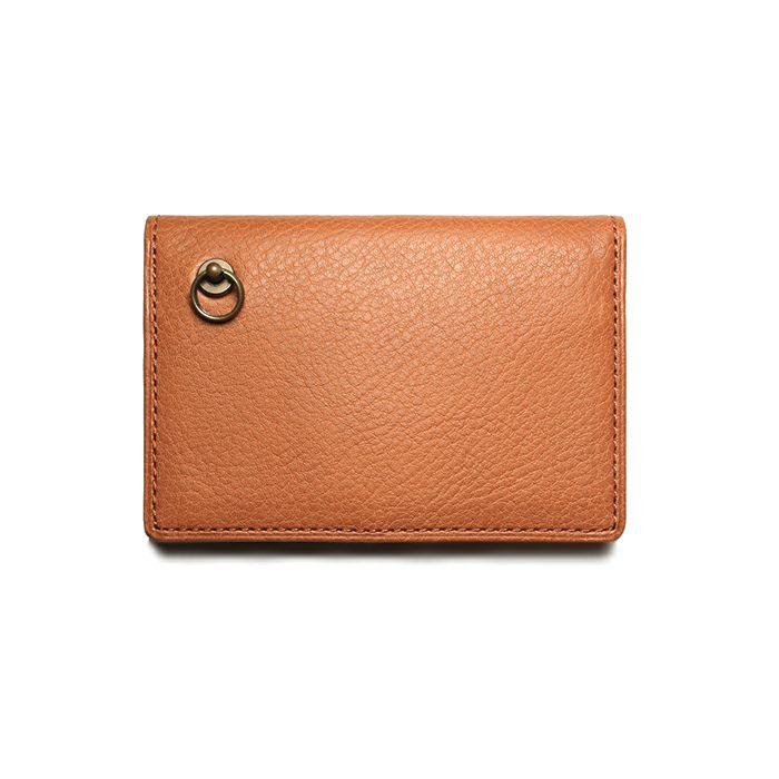 12月誕生石 アリゾナレザーカードケース - ブラウン / 名刺入れ / 財布・革財布