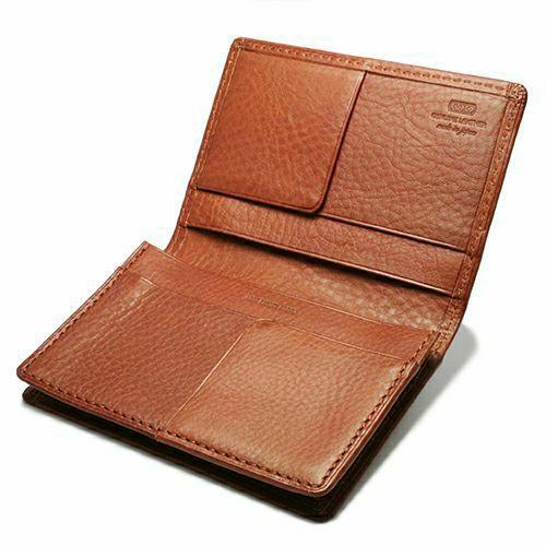 7月誕生石 アリゾナレザーカードケース - ブラウン / 名刺入れ / 財布・革財布